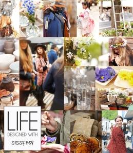 Spring Garden Market collage