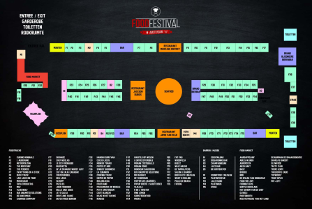 Foodfestival, Amsterdam, RAi, Wendy Louise
