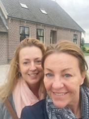 Kim en Wendy, kaasproeverij, Pons Habben Jansen